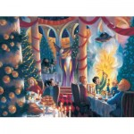 Puzzle  New-York-Puzzle-HP1609 Pièces XXL - Harry Potter - Christmas at Hogwarts