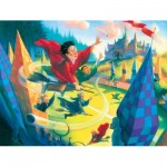 Puzzle  New-York-Puzzle-HP1611 Pièces XXL - Harry Potter - Quidditch