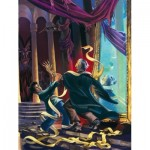 Puzzle  New-York-Puzzle-HP2161 Pièces XXL - Harry Potter - Unravelling Quirrell