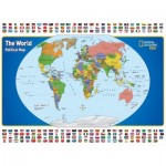Puzzle  New-York-Puzzle-NG1702 Pièces XXL - National Geographic - The World Kids Map