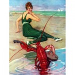 Puzzle  New-York-Puzzle-PD627 Vintage Images - Lobster Serenade