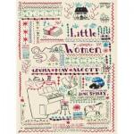 Puzzle  New-York-Puzzle-PG1901 Pièces XXL - Little Women