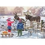 Puzzle  Otter-House-Puzzle-73571 Little Donkey