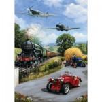 Puzzle  Otter-House-Puzzle-74744 Nostalgic Transport