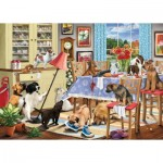 Puzzle  Otter-House-Puzzle-74747 Dogs In The Dining Room
