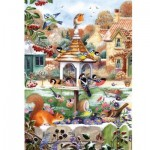 Puzzle  Otter-House-Puzzle-75089 First Snowfall