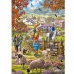 Puzzle  Otter-House-Puzzle-75090 Autumn Walk