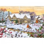 Puzzle  Otter-House-Puzzle-75094 Country Garden