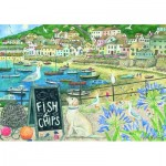 Puzzle  Otter-House-Puzzle-75821 Fish'N'Chips