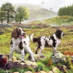 Puzzle   Spaniels On The Moor