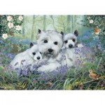 Puzzle   Westies In The Wood