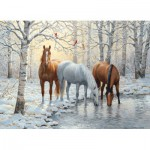 Puzzle  Cobble-Hill-51671 Persis Clayton Weirs : Trio Hivernal