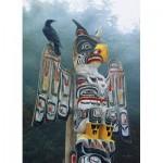 Puzzle  Cobble-Hill-51777 Totem dans la Brume