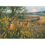 Puzzle  Cobble-Hill-51789-80092 Chevreuils d'été
