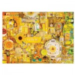 Puzzle  Cobble-Hill-51863 Shelley Davies: Yellow