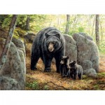 Puzzle  Cobble-Hill-51869 Rosemary Millette: Mama Bear