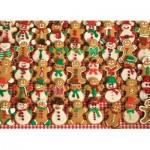Puzzle  Cobble-Hill-52098 Pièces XXL - Biscuits de Noël