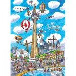 Puzzle  Cobble-Hill-53502 DoodleTown : Toronto