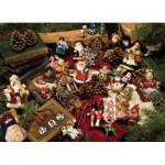 Puzzle  Cobble-Hill-54323 Pièces XXL - Décorations de Noël