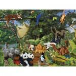 Puzzle  Cobble-Hill-54613 Le rassemblement de Noé