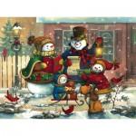Puzzle  Cobble-Hill-54617 Janet Stever : Chanson de Saison