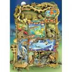 Puzzle  Cobble-Hill-54620 Pièces XXL - Reptiles and Amphibians