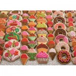 Puzzle  Cobble-Hill-54631 Pièces XXL - Sweet Treats