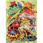 Puzzle  Cobble-Hill-54632 Pièces XXL - Frog Pile