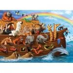 Puzzle  Cobble-Hill-54633 Pièces XXL - Voyage dans l'Arche de Noë