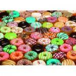 Puzzle  Cobble-Hill-57130 Doughnuts