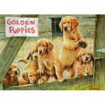 Puzzle  Cobble-Hill-57152 Chiots Golden