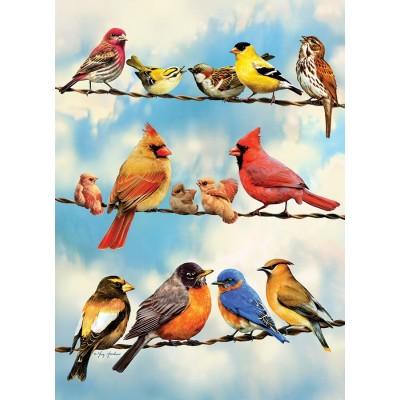 Puzzle Cobble-Hill-58888 Blue Sky Birds