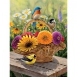 Puzzle  Cobble-Hill-70029 Rosemary Millette : Bouquet d'Eté