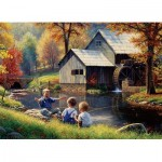 Puzzle  Cobble-Hill-70046 Jack Pine - Fishy Story