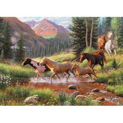 Puzzle Cobble-Hill-70051 Jack Pine - Mountain Thunder