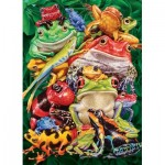 Puzzle  Cobble-Hill-70052 Jack Pine - Frog Business