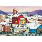 Puzzle  Cobble-Hill-80007 Winter Neighbors