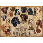 Puzzle  Cobble-Hill-80022 Sporting Dogs