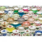 Puzzle  Cobble-Hill-80034 Tea Cups