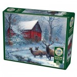 Puzzle  Cobble-Hill-80047 Winter Magic