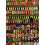 Puzzle  Cobble-Hill-80063 Sauces très épicées