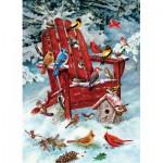 Puzzle  Cobble-Hill-80069 Greg Giordano : Les Oiseaux d'Adirondack