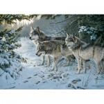 Puzzle  Cobble-Hill-80071 Persis Clayton Weirs : Le Sentier des Loups