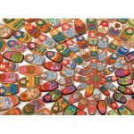 Puzzle  Cobble-Hill-80215 Matryoshka Cookies
