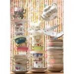 Puzzle  Cobble-Hill-80273 Magic Tea Shop