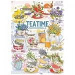 Puzzle  Cobble-Hill-80277 Tea Time