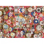 Puzzle  Cobble-Hill-80280 Timepieces