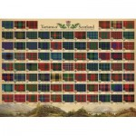 Puzzle  Cobble-Hill-80324 Tartans of Scotland