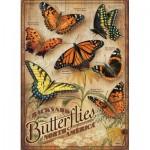 Puzzle  Cobble-Hill-85006 Pièces XXL - Backyard Butterflies