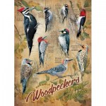 Puzzle  Cobble-Hill-85007 Pièces XXL - Notable Woodpeckers